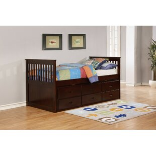 Fayerweather Twin Bunk Bed with Trundle and 3 Drawers