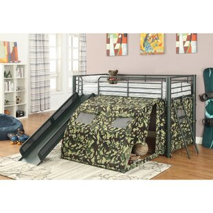 Jenkin Twin Low Loft Bed by Zoomie Kids