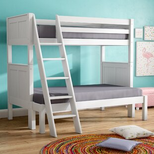 Great Price Oakwood Twin over Full Bunk Bed by Mack & Milo Reviews (2019) & Buyer's Guide