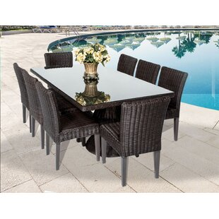 Rosecliff Heights Eldredge 9 Piece Dining Set