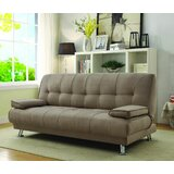 Bandini Twin 76.5 Tufted Back Convertible Sofa by Orren Ellis