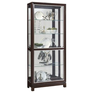 Beckman Lighted Curio Cabinet by Darby Ho..