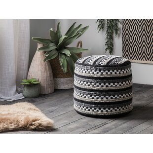 Solana Pouf by Bungalow Rose