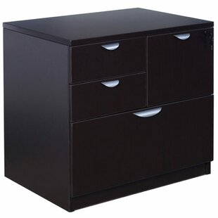 Park Avenue 4-Drawer Combo File by Symple Stuff