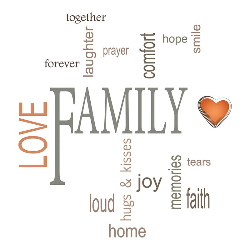 Family Quotes Wall Decal Reviews Allmodern