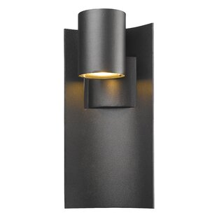 Compare Gerlach 1-Light Outdoor Sconce By Ivy Bronx