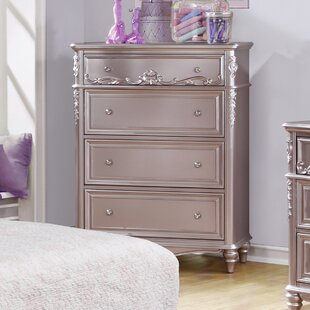 Inexpensive Whitney 4 Drawer Chest By Viv + Rae