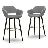Louvre 29.5 Bar Stool (Set of 2) by Ivy Bronx