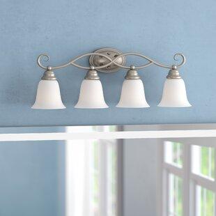 Best Price Ellis 4-Light Vanity Light By Charlton Home