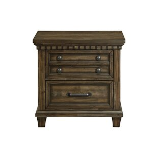 Reviews Dileo 2 Drawer Nightstand by Darby Home Co