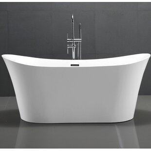 HelixBath Amathous 67 x 31 Soaking Bathtub by Kardiel