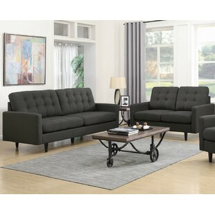 Rochester 2 Piece Living Room Set by Infini Furnishings
