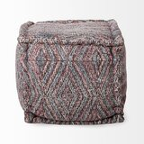 Ammon Otto Pouf by Bungalow Rose