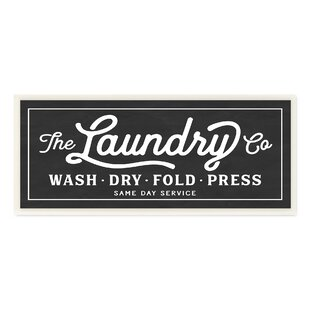 Vintage Laundry Room Signs Vintage Laundry Room Signs  Wayfair