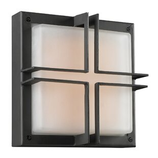 Best Reviews Kesgrave 1-Light Outdoor Flush Mount By Ebern Designs