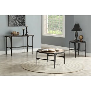 Eamon 3 Piece Coffee Table Set By17 Stories