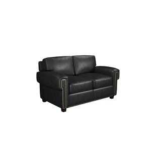 Westland and Birch Sioux Leather Loveseat