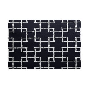 Connelly Navy Blue Indoor/Outdoor Area Rug
