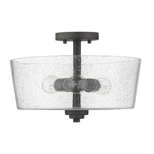 Pataskala 3-Light Semi Flush Mount by Gracie Oaks
