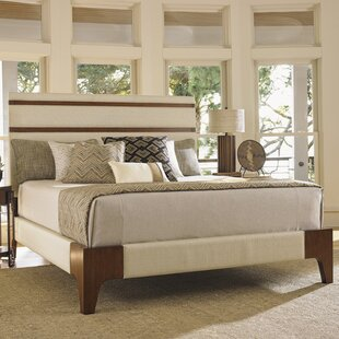 Island Fusion Upholstered Panel Bed