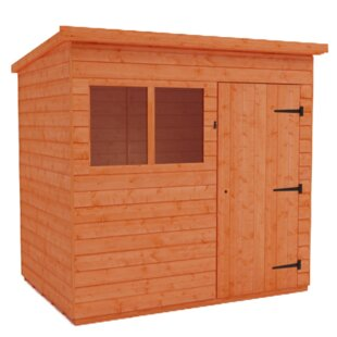 Tiger 4 Ft. W X 5 Ft. D Tongue And Groove Pent Wooden Shed By Tiger Sheds