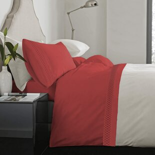 Feagin Laser Cut Hem Microfiber Sheet Set