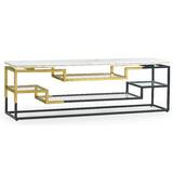 Fusion Console Table by Jonathan Charles Fine Furniture