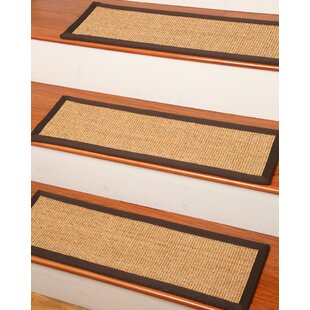 Montreal Beige Stair Treads (Set Of 13)