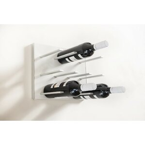 9 Bottle Wall Mounted Wine Rack by STACT