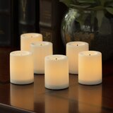 Flameless Unscented Votive Candle (Set of 6)