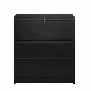 Shaun 3 Drawer Metal Storage Cabinet by Rebrilliant
