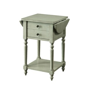 Kayli Drop-leaf End Table