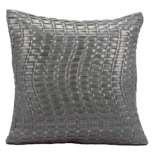 Tiefort Leather Throw Pillow