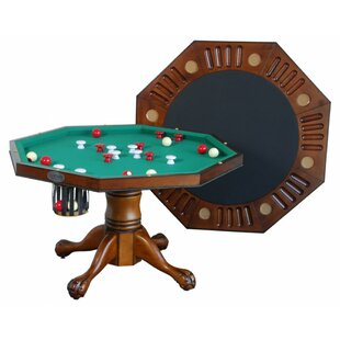 Octagon Bumper Pool Table with Accessories Berner Billiards
