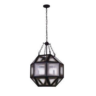 Dvina 4-Light LED Chandelier by CWI Lighting