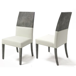 Almyra Upholstered Dining Chair (Set of 2) by Everly Quinn SKU:BD299625 Purchase