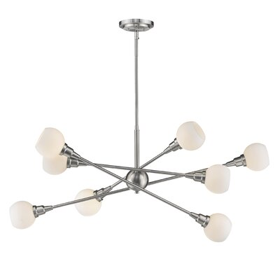 Brayden Studio Silvernail 8-Light Chandelier