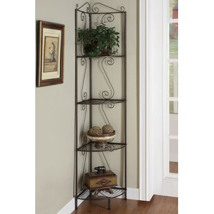 Corner Bookcase by Monarch Specialties Inc.