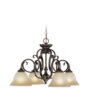 Fleur De Lis Living Chalfont 4-Light Shaded Chandelier