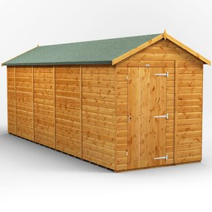 6 Ft. W X 18 Ft. D Shiplap Apex Wooden Shed By WFX Utility