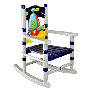Outer Space Kids Rocking Chair by Fantasy Fields