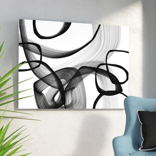 Abstract Poetry In Black And White 91 Framed Graphic Art