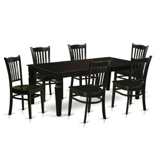 Beldin 7 Piece Dining Set DarHome Co