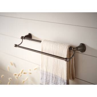 Kingston Brass Monarch 24 22 Wall Mounted Towel Bar Reviews Wayfair