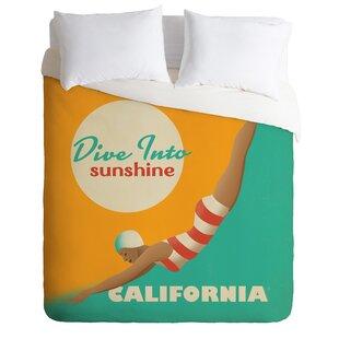 East Urban Home Dive California Duvet Cover ..