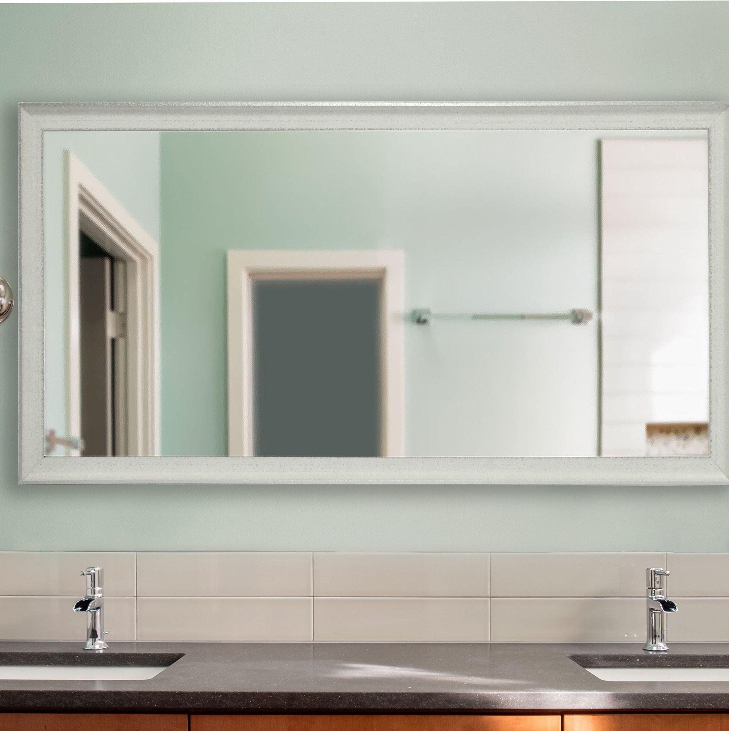 Wrought Studio Wanner Vintage Bathroom Mirror & Reviews | Wayfair