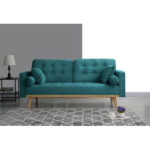 Seagle Mid Century Modern Sofa by Wrought Studio 2019 Sale