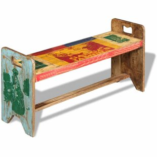Free Shipping Novak Wood Bench