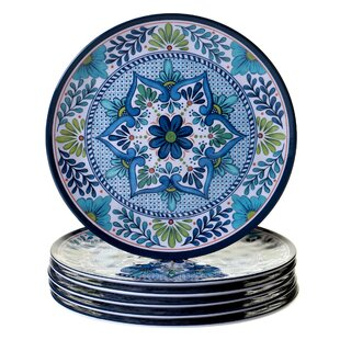 Bezu 11 Heavy Weight Melamine Dinner Plate (Set of 6) By World Menagerie