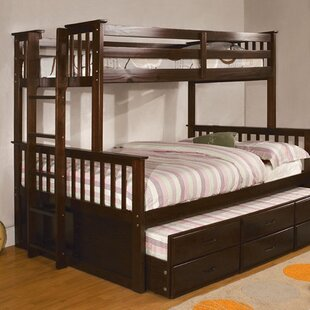 Best Twin Over Full Fairford Bunk Bed by Harriet Bee Reviews (2019) & Buyer's Guide